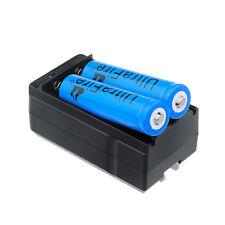 2pcs UltraFire 3000mAh 18650 Battery 3.7v Li-ion Rechargeable Batteries +Charger