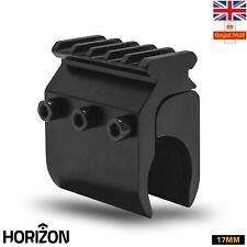 HORIZON Barrel Shotgun Mount Weaver Rail Scope Airsoft Clip Attachment 17MM UK