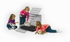 Folding Rabbit Cage Birds Pets Portable Ccessories Kids Hamster Small Animals