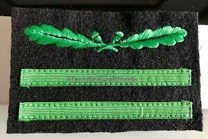 Camouflage Tenente distintivo da mimetica Oberleutnant 1. Lieutenant rank patch