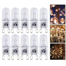 10 x Ampoules Bulb Eco - Halogènes G9 18W 28W 33W 42W 230V 2700K Lumière Chaud