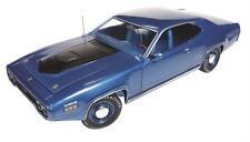 1971 PLYMOUTH GTX HARDTOP AMERICAN MUSCLE METALLIC BLUE 1:18  AMM1065 AUTO WORLD