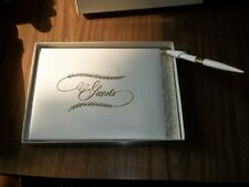 Nib Gibson White Guest Book and Pen 921 People