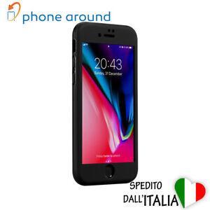Cover custodia morbida 360 full body silicone per Iphone 6 6s 7 8 Plus