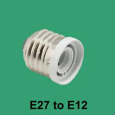 Standard Light Bulb Base E27 to Candelabra Base E12 Socket Reducer Adapter
