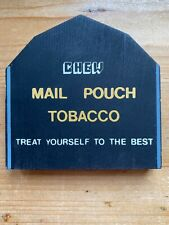 Cat's Meow Village 1986 Mail Pouch Tobacco Barn Fall Series Retired Shelf Sitter