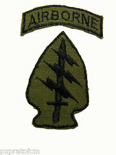 Patch Us Special Forces con tab Airborne Vietnam War