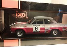 1/18 IXO FORD ESCORT MK1 RS 1600 1971 RAC RALLY  #6 ROGER CLARK