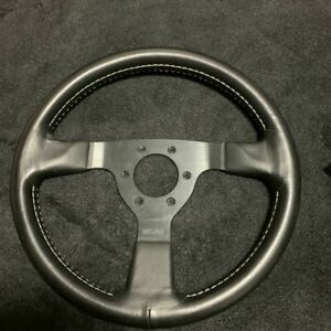 Rare Nismo 33 Pie Old Logo Steering Wheel Shipped from Japan
