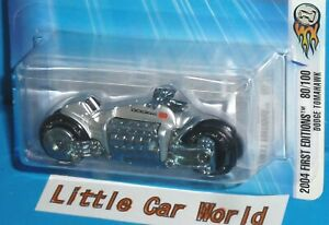 2004 First Editions HOT WHEELS Dodge Tomahawk Col. #080/100 Silver