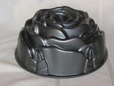 Nordic Ware Rose Bundt Cake Pan 10 Cup Cast Aluminum Heavy Duty  USA