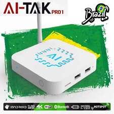 2019 AI-TAK PRO Brazilian Portuguese 4K HD IPTV Internet Live TV Box Android 6.0