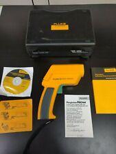 FLUKE 562 Infrared IR Thermometer Temperature Meter FULL KIT HARD CASE US Seller