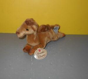 "10"" Russ Yomiko Classics Bactrian Camel Plush 2 Humps Bean Stuffed Animal"