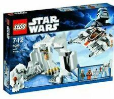 Lego Star Wars 8089 Hoth Wampa Cave Snow Speeder Luke Skywalker New 2010 Retired