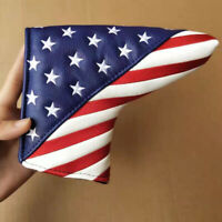 Mykepoda USA Flag Putter Cover Golf Headcover Magnetic for Scotty Cameron Blade