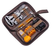 149PCS Watch Repair Tool Kit Wristwatch Link Pin Remover Case Opener Spring Bar