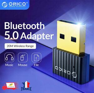 Clé USB Bluetooth 5.0 Dongle adaptateur récepteur émetteur pour ordinateur ORICO