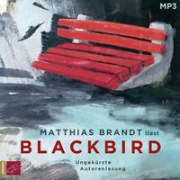 MATTHIAS BRANDT - BLACKBIRD (1 X MP3-CD)   CD NEW BRANDT,MATTHIAS