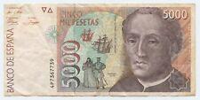 More details for 5000 peseta spanish bank note banco de espana