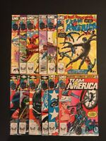 Marvel Comics Team America (1982) 1,2,3,4,5,6,7,8,9,10,11,12 Complete Run! NM