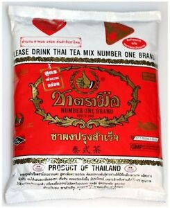 Thai Iced Tea Mix  Number One Brand 400 G. Free Shipping