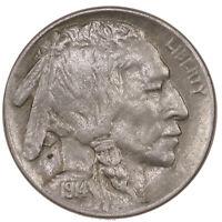 Raw 1914-D Buffalo 5C Uncertified Ungraded Denver Mint US Nickel Coin