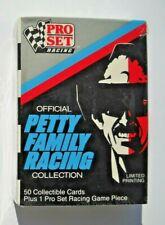 1991 Pro Set Richard Petty Family Sealed Trading Card Set (50 Cards)