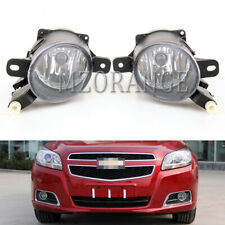 Pair Fog Light For Chevy Malibu 2013 2014 2015 Front Lamp Replacement Assembly