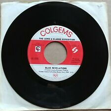 "THE LEWIS & CLARKE EXPEDITION Blue Revelations 45 7"" POP ROCK Colgems Records"