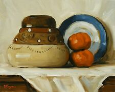 Original Art - Oil painting -  still life by j payne