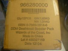 Unopened Deathknell Booster Case for Dungeon and Dragon Miniatures