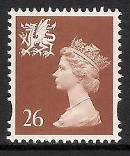 Wales 1997 W80 26p photogravure 2 bands perf 15x14 Machin Definitive MNH