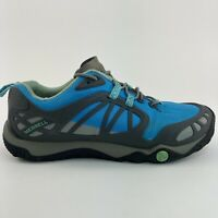 Merrell Proterra Womens Size 6.5 Blue Running Hiking Low Athletic Sneakers Shoes