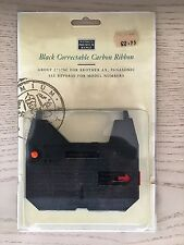 Black Correctable Carbon Ribbon - Group 2737SC for Brother AX, Panasonic