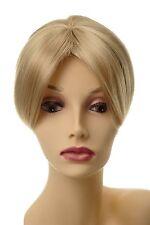 Toupet Haarteil Haarersatz Aufsatz Haarauffüller Clip-In Hell-Gold-Blond L008-26