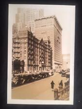 12/12/30 Park Ave Belmont Hotel Murray Hill Manhattan NYC Original Old Photo U19