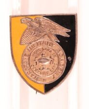Army DI Pin:  Hargrave Military Academy ROTC - pb, Meyer, Sterling