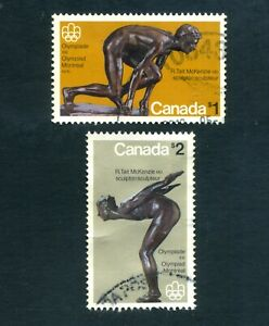 CANADA  1975  Olympic Games SG 801-802  Used