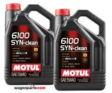 Aceite Motor Motul 6100 SYN-CLEAN 5W40 Acea C3 RN0710 dexos 2 DPF,  Pack 10 Lts