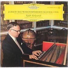 BACH: Well Tempered Klavier KIRKPATRICK Vinyl LP NM DGG Ger 2707 015