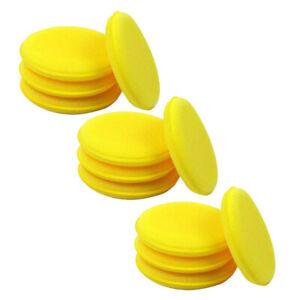 12pcs Auto Car Waxing Polish Foam Sponge Wax Applicator Cleaning Detailing Pads~