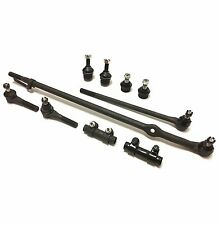 10 Pc Suspension Kit for Bronco & F-150 Inner & Outer Tie Rod Ends Ball Joints