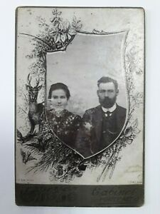 Antique Photographic Images Husband Wife Royal Russia Original Photographs Old