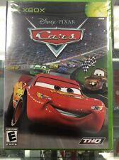 Disney's Pixar Cars (Microsoft Original Xbox, 2006) Original Factory Sealed