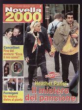 NOVELLA 2000 46/1999 PARISI BATTISTI CANCELLIERI BENEDETTA CROCCO FASANI MADONNA