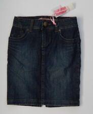 NEW ROXY Ladies INDIGO DENIM SKIRT Size 6 BNWT