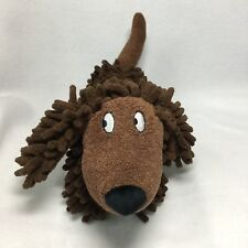 Jellycat Silly Sausage Puppy Dog Plush Soft Toy Brown Sensory Nubby Chenille New