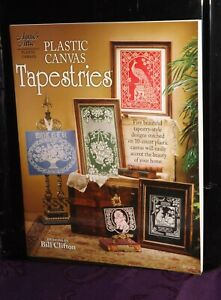 Annie's Attic # 841010, Plastic Canvas Tapestry patterns.