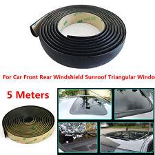 5M Waterproof Car Front Rear Windshield Sunroof Triangular Window Sealing Strips
